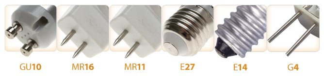 Vrste grla LED sijalica