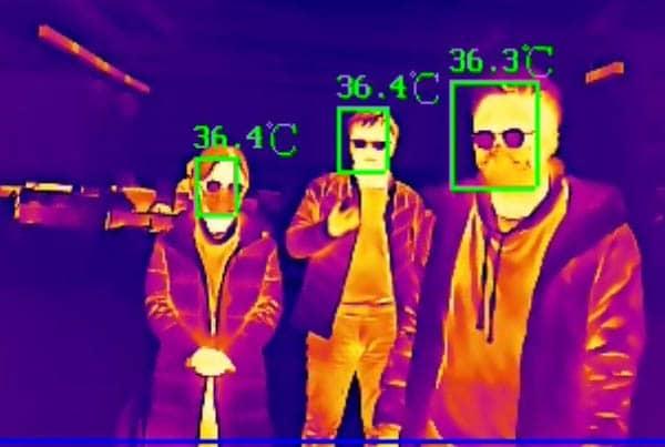 video nadzor - termlne kamere